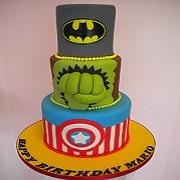Batman Hulk Capt. America